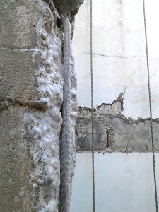 Reparación de frente de forjados en Hotel Macarena - Ateca Trabajos Verticales S.L. 5