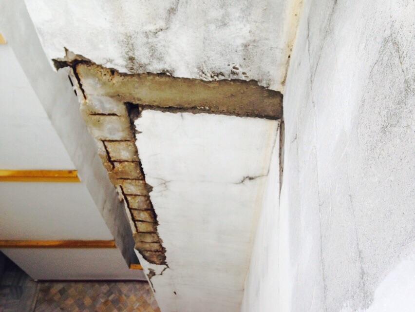 Reparación de frente de forjados, Hotel Macarena - Ateca S.L.