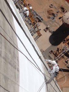 Trabajando en planta Solar Noor - Marruecos - Ateca Trabajdos Verticales S.L.