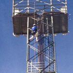 Ateca pintura torre iluminacion