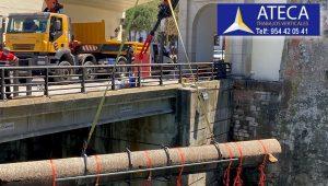 Desmontaje estructura en Ceuta