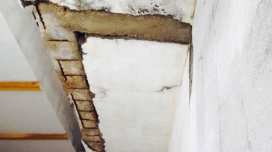Reparación de frentes de forjados. Hotel Macarena Sevilla.
