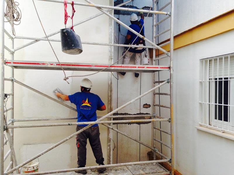 reparación hormigón forjados ateca trabajos verticales