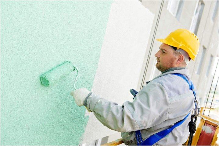 Pintor en fachada 2 Ateca Trabajos Verticales