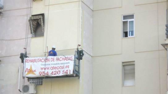 Pintura de fachadas en Dos Hermanas 954 42 05 41