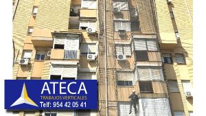 Trabajos verticales en edificios 1