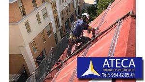 Trabajos verticales en edificios 3
