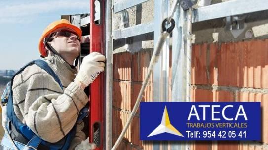 Trabajos verticales seguros en Sevilla – Somos Ateca 954420541