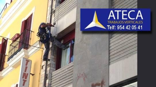 Contratar empresas de Trabajos Verticales en Carmona