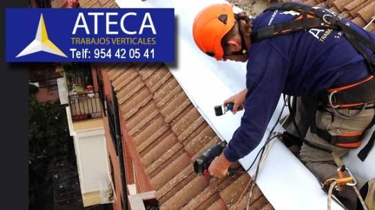 Para trabajos en altura en Alcalá de Guadaira nuestra empresa de Trabajos Verticales