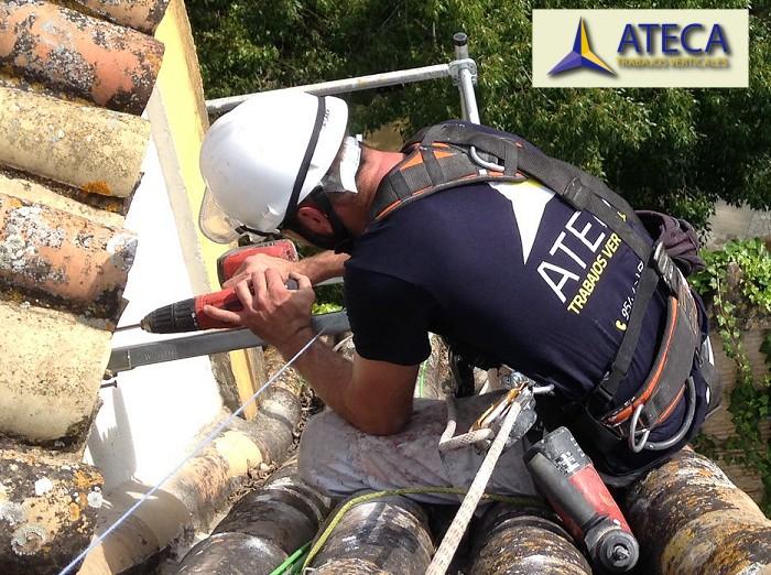 Mantenimiento de tejados Ateca
