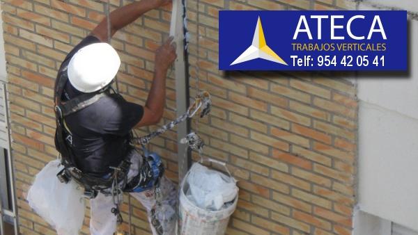 Trabajos verticales en Sevilla Ateca