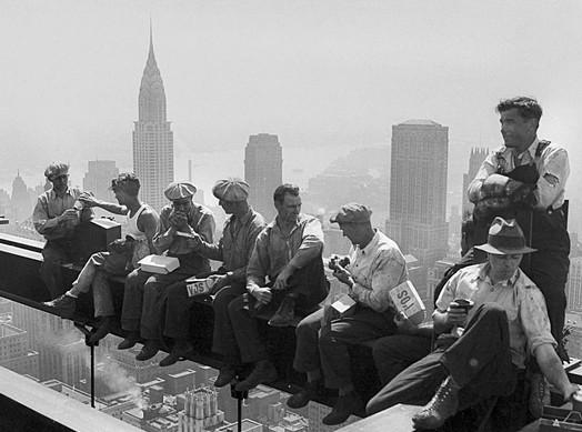 Trabajos Verticales hace un siglo