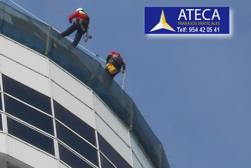Trabajos industriales de altura