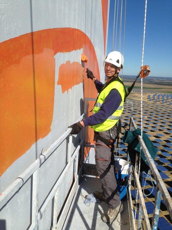 rotulacion termo solar ateca trabajos verticales