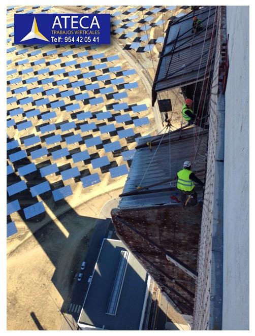 Planta Solar PS20 Sanlucar la Mayor Trabajos Verticales Ateca 2