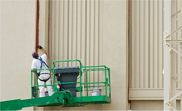 PINTURA 2 de fachadas ATECA TRABAJOS VERTICALES SL