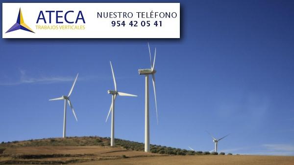 Trabajos verticales industriales Malaga