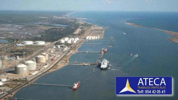 Industrias Puerto de Huelva